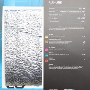 Co Pro Alu-Line ondervloer